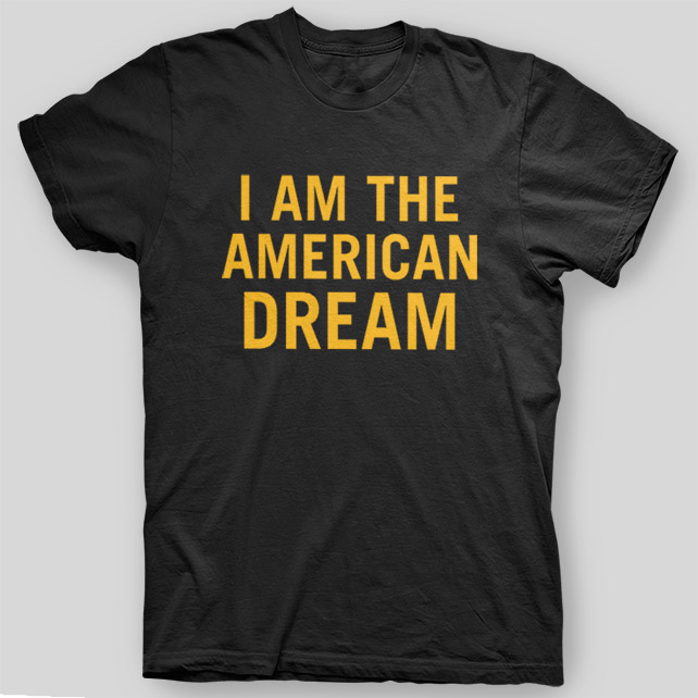 I AM THE AMERICAN DREAM Omar Little THE WIRE T-Shirt SIZES S-5X   eBay
